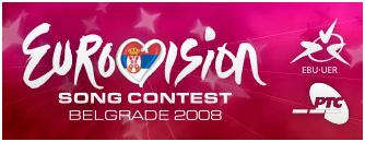 Logo eurovision 2008