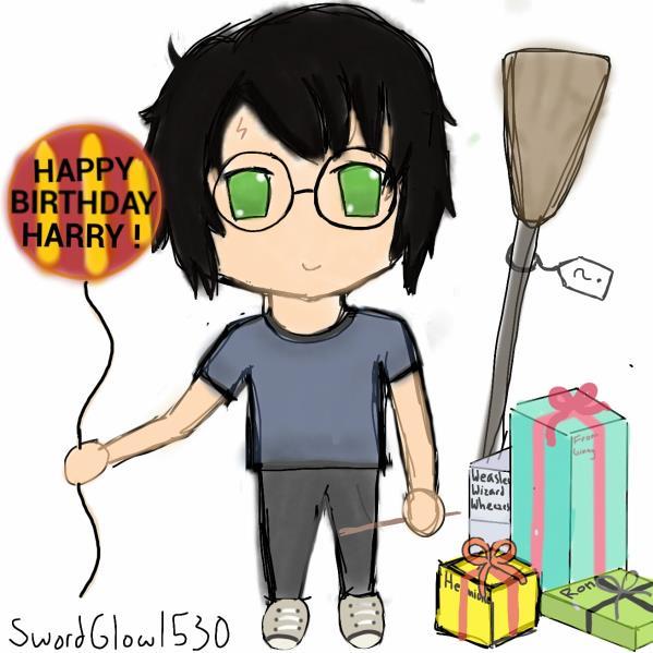 cumpleaños harry potter 2