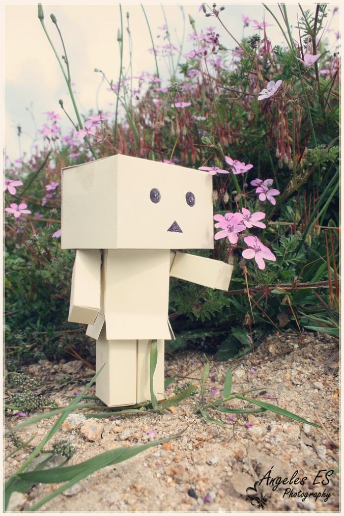 muñeco de carton