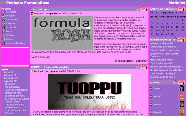 formula rosa